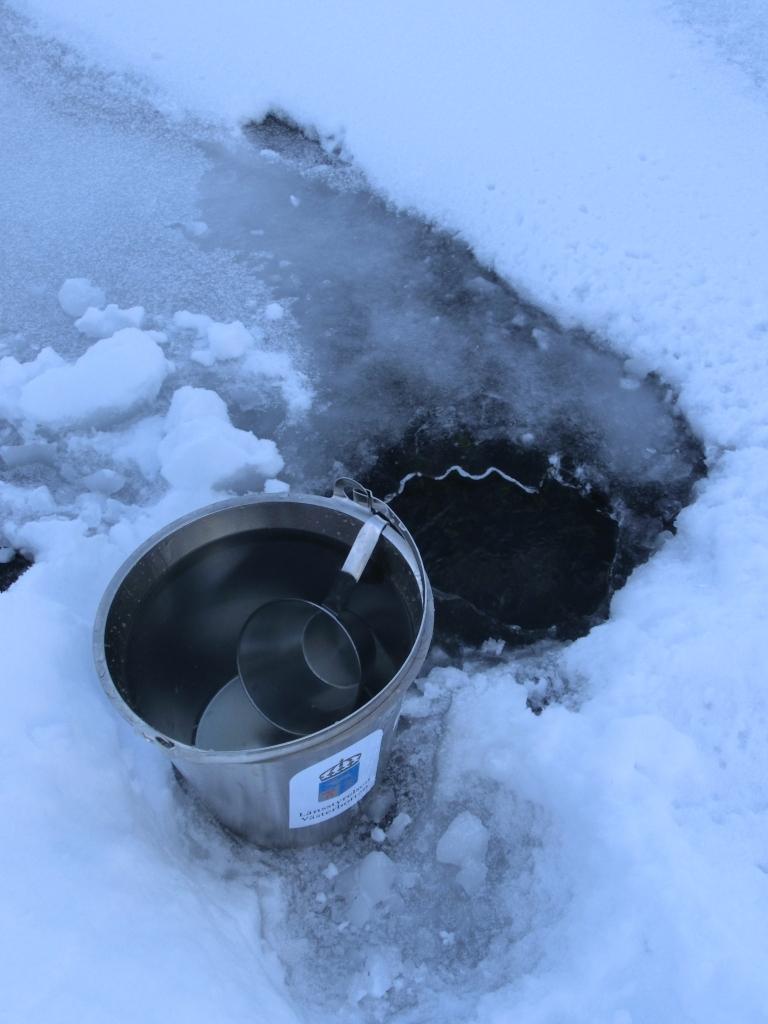 smälta snö till vatten